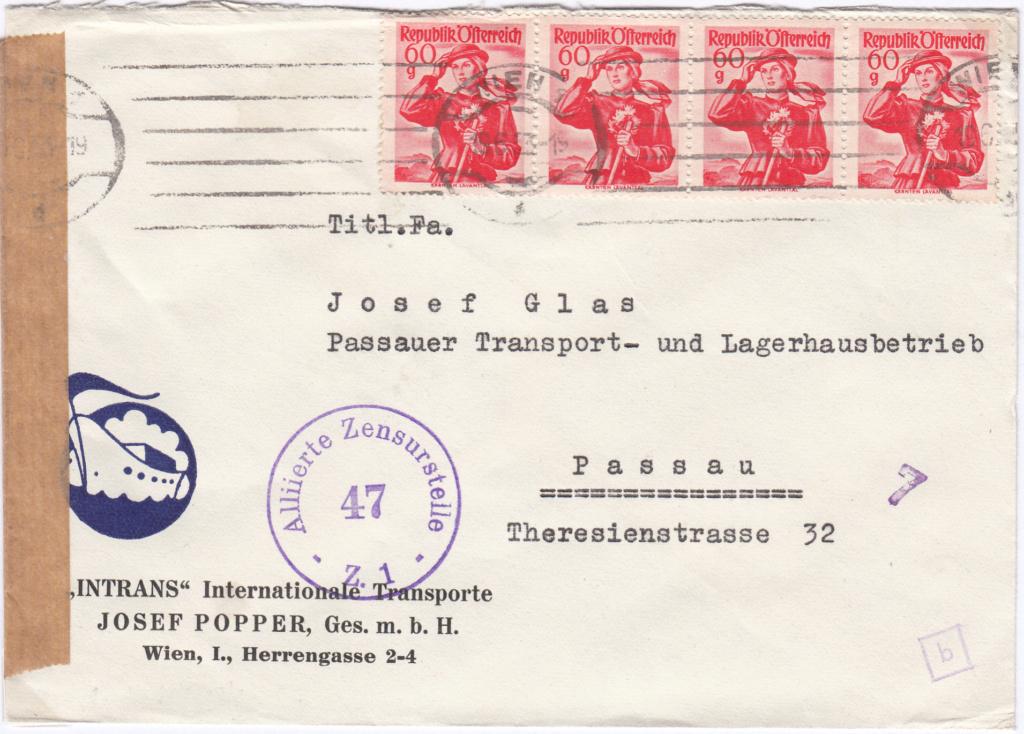 Trachtenserien ANK 887 - 923 und 1052 - 1072 Belege - Seite 14 Img82