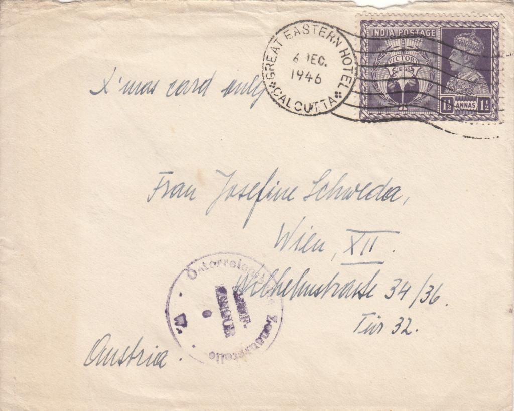 Post von seltenen Länder nach Österreich 1946 bis 1953 Img_0072