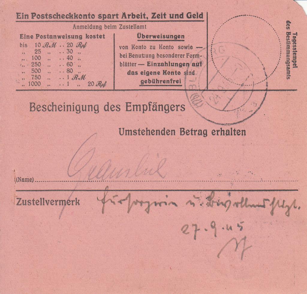 Posthornzeichnung  -  ANK 697-713  -  Belege - Seite 5 Img_0077