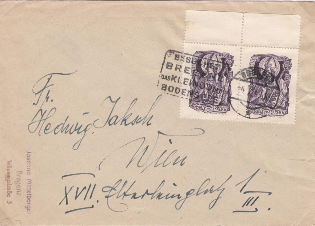 Sammlung Bedarfsbriefe Österreich ab 1945 - Seite 16 Img_0088