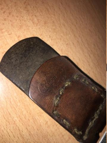 ENSEMBLE Ceinturon Boucle Cartouchières allemand ww2 1938 , R.F.V. !! Img_3911