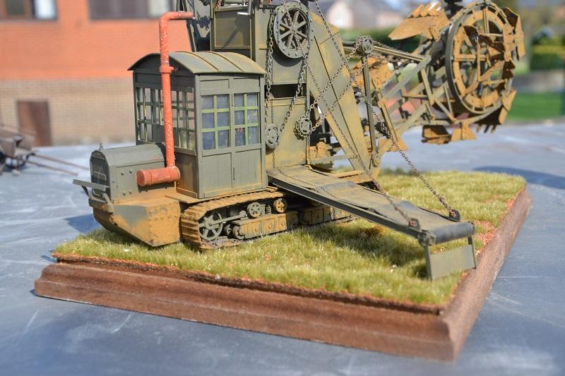 Schützengrabenbagger Première Guerre Mondiale vers 1917 - 1/35 scratch intégral Dsc_0148