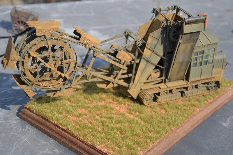 Schützengrabenbagger Première Guerre Mondiale vers 1917 - 1/35 scratch intégral Dsc_0149