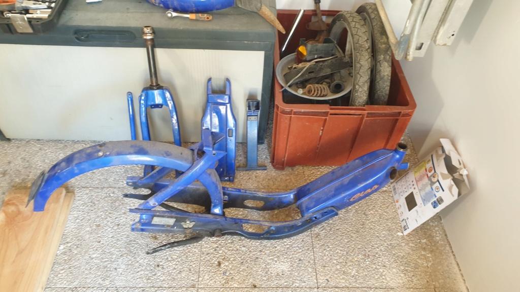 Restauration complète Ciao px 2006 20210311