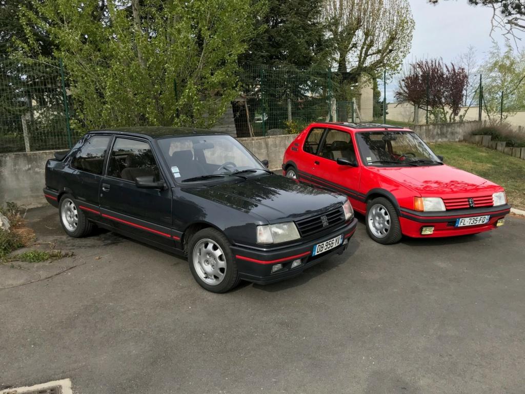 205 GTi 1.9 AM 1987 rouge vallelunga  Av310