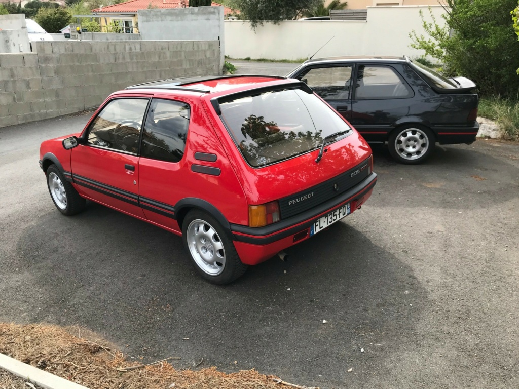 205 GTi 1.9 AM 1987 rouge vallelunga  Ave210