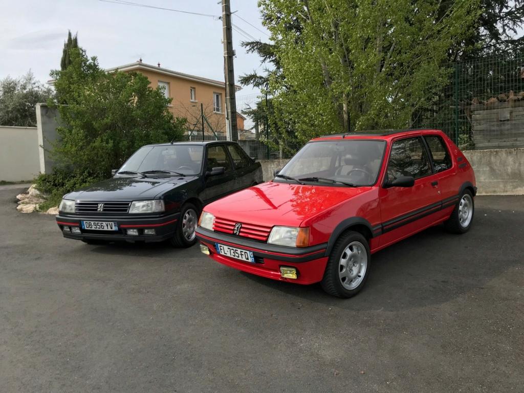 205 GTi 1.9 AM 1987 rouge vallelunga  Avec_l10