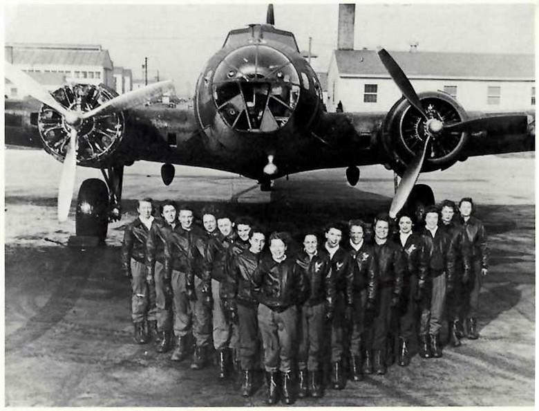 WASP - pilotes feminines B17s10