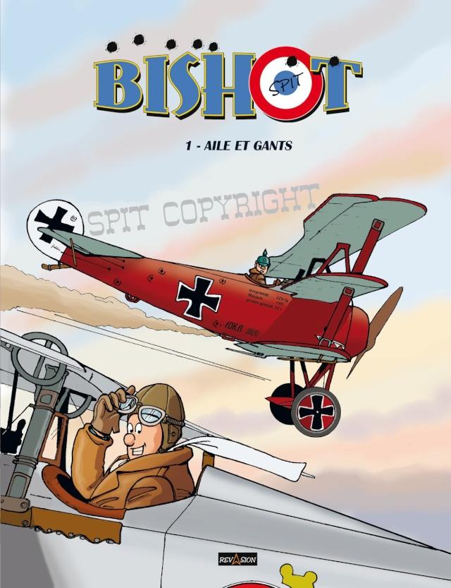 Décollage du 1er album BD de BISHOT Bishot10