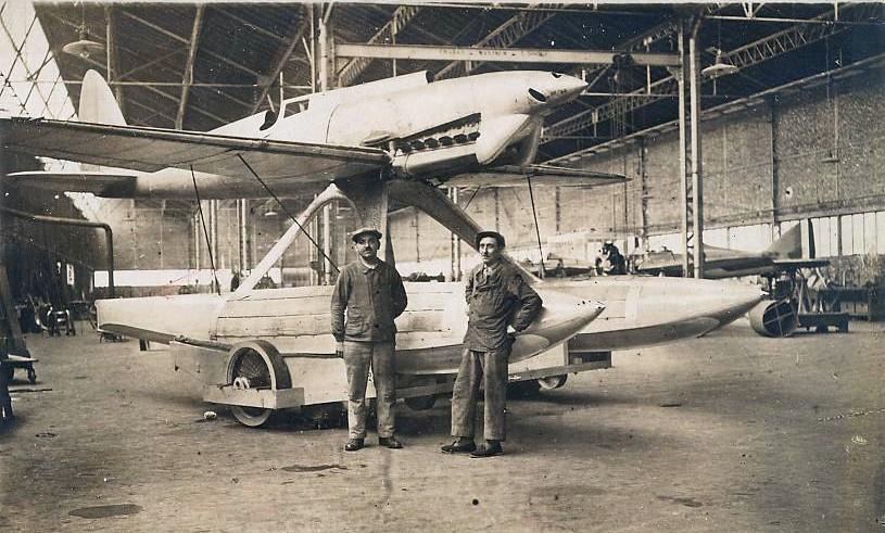 Avions Bernard - Page 2 Gaston12