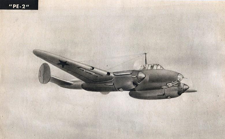 "Petlyakov Pe-2 ""Péchka"" & le 587ème GvBAP Pe2-311"