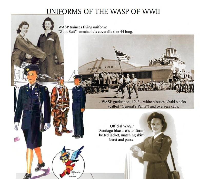 WASP - pilotes feminines Wasp410