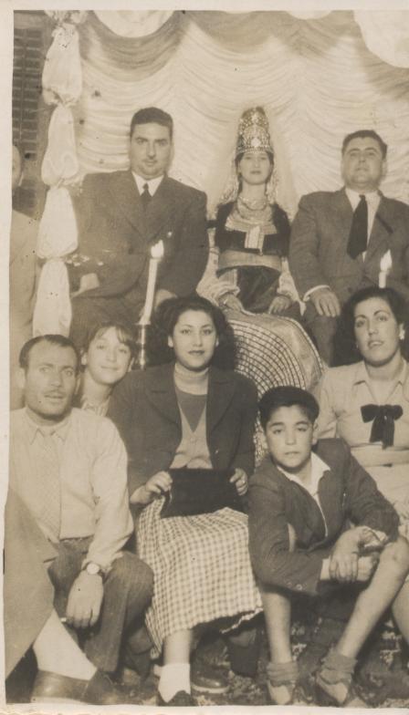SOIR DU HENNE AVEC  LA KESOUA EL KBIRA (grande robe en arabe) - Page 2 194010