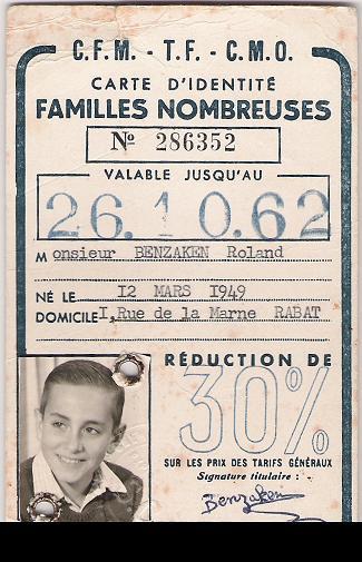 DOCUMENTS ET CARTES DE NOS PARENTS AU MAROC Carte_11