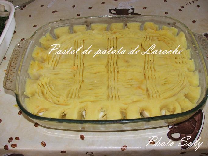 PASTEL DE CARNE Y PATATA  pastel de viande et pomme de terre Dscf4220