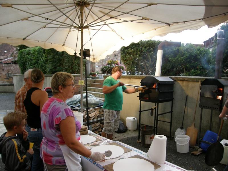 Soirée tartes flambées le samedi 6 août 2011 à Wangen P8060015