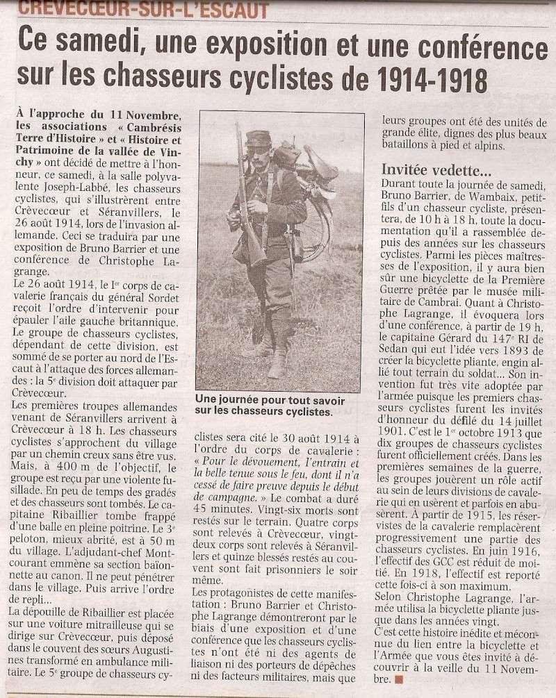 Crèvecoeur-sur-l'Escaut - Exposition et conférence Numari11