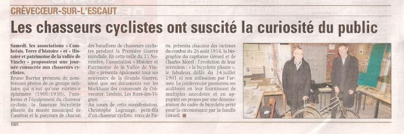 Crèvecoeur-sur-l'Escaut - Exposition et conférence Numari12