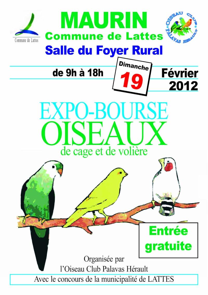 Les bourses de: l'OCPH (oiseau Club Palavas Hérault). Affich19