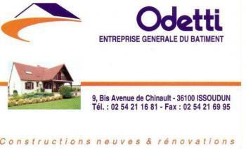 p25. ISSOUDUN - ODETTI - Entreprise générale de batiment Iss-410