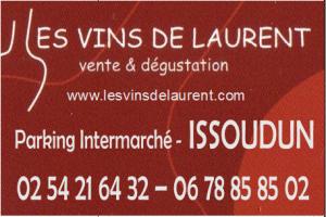 r26.  ISSOUDUN - LES VINS DE LAURENT  Iss-vi10