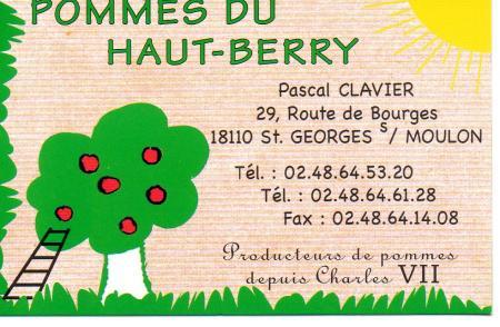 SAINT-GEORGES SUR MOULON - POMMES DU HAUT-BERRY - Producteur pommes, vente produits régionaux St-geo12