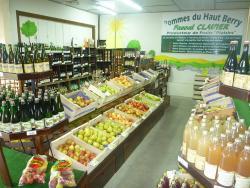 SAINT-GEORGES SUR MOULON - POMMES DU HAUT-BERRY - Producteur pommes, vente produits régionaux St-geo13