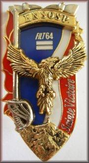 64ème promotion de Lieutenants de Sapeurs-Pompiers Professionnels