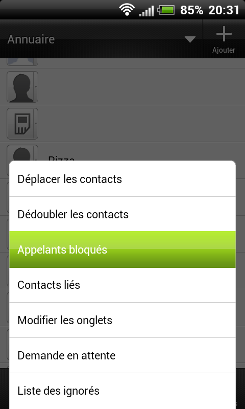 [TUTO] Blacklister/bloquer un appelant avec son HTC Blackl13
