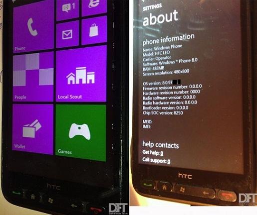 La DFT aurait porté Windows Phone 8 sur le HTC HD2 Hd2_wp10