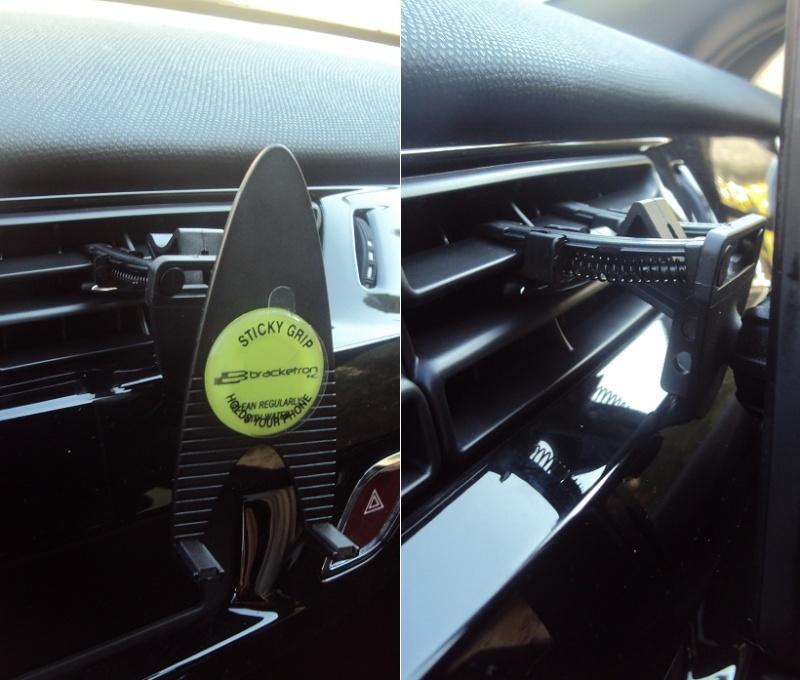 [MOBILEFUN.FR] TEST du Support voiture Universel Bracketron MobileDock Grille Aération Suppor19