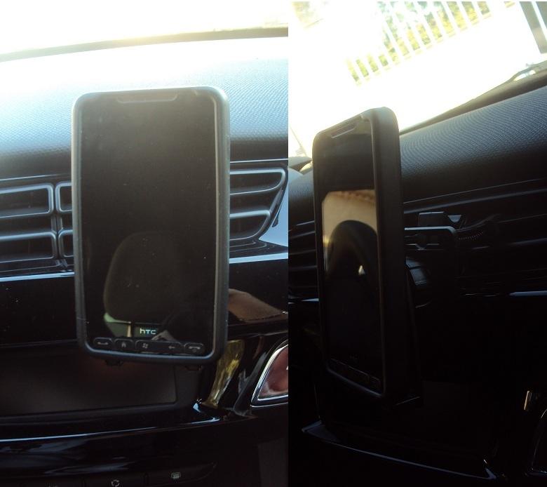 [MOBILEFUN.FR] TEST du Support voiture Universel Bracketron MobileDock Grille Aération Suppor20