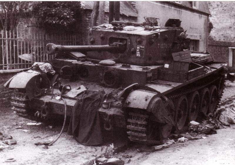 Cromwell détruit en Juin 1944 Mar05016