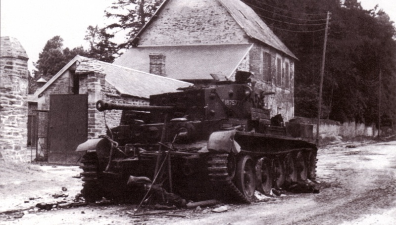 Cromwell détruit en Juin 1944 Mar05017