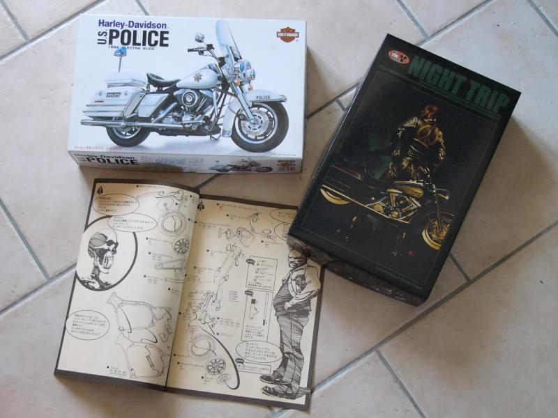 Road king Police versus Custom. Kits_510