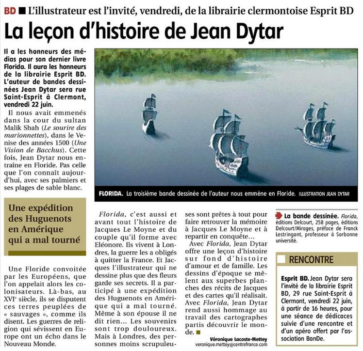 Rencontre avec Jean Dytar vendredi 22 juin 2018 Captur10
