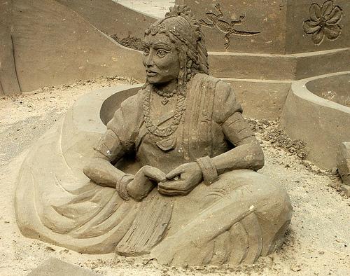 Sand sculptures 14245110