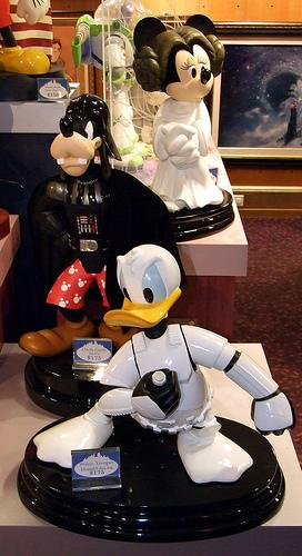 les trentes ans de STAR WARS par disney Group110