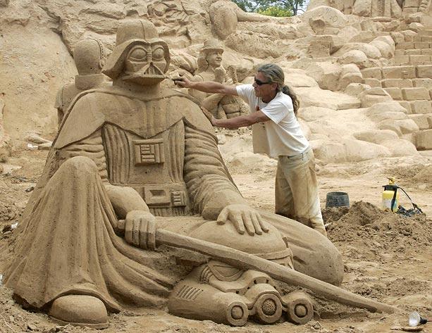 Sand sculptures Sand-d10