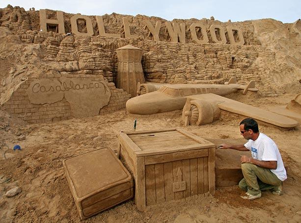 Sand sculptures Sand-h10