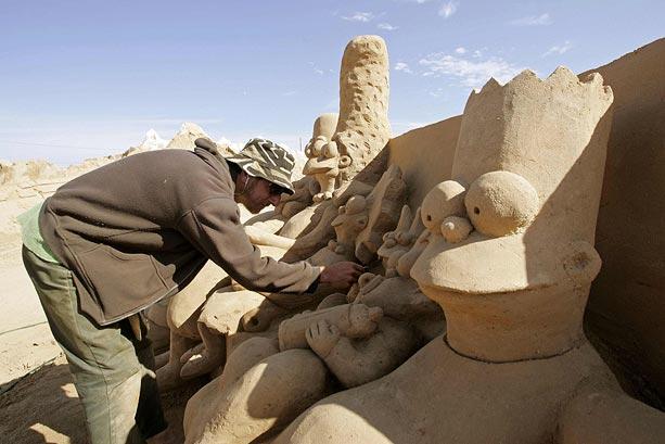 Sand sculptures Sand-t10