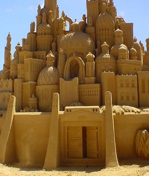 Sand sculptures Sand_s10