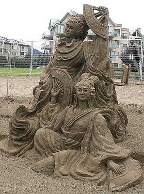 Sand sculptures Sand_s11