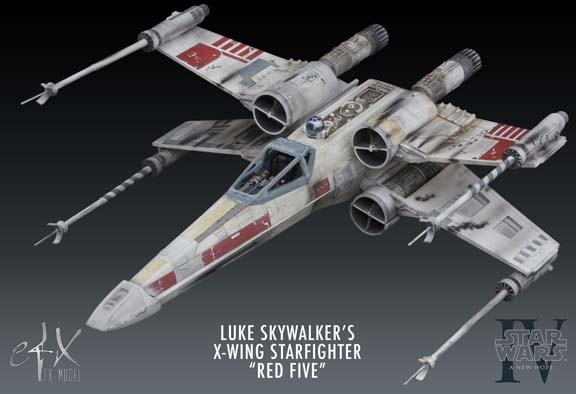 eFX Luke Skywalker X-Wing ( red 5 ) X-wing10