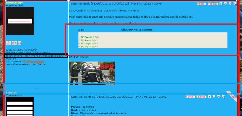 Esthétique des codes, couleurs et profil.  Sans_t16