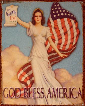 GOD BLESS AMERICA - WALLPAPER 10052g10