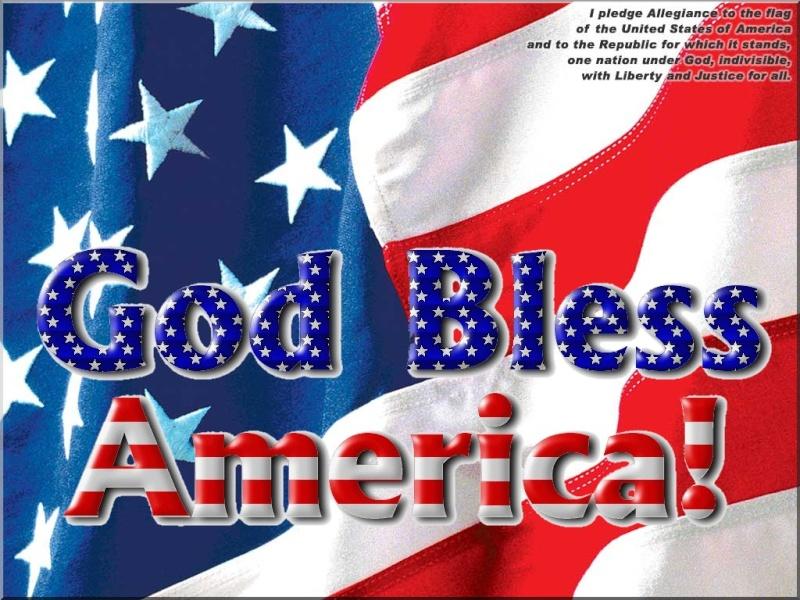 GOD BLESS AMERICA - WALLPAPER Flagwa10
