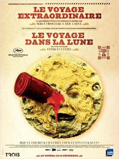 1902 - Le voyage dans la Lune - Georges Méliès Affich10