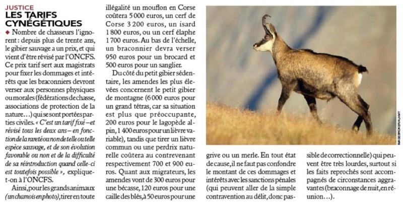 Les chasseurs me dégoûtent... - Page 4 Tarifc10