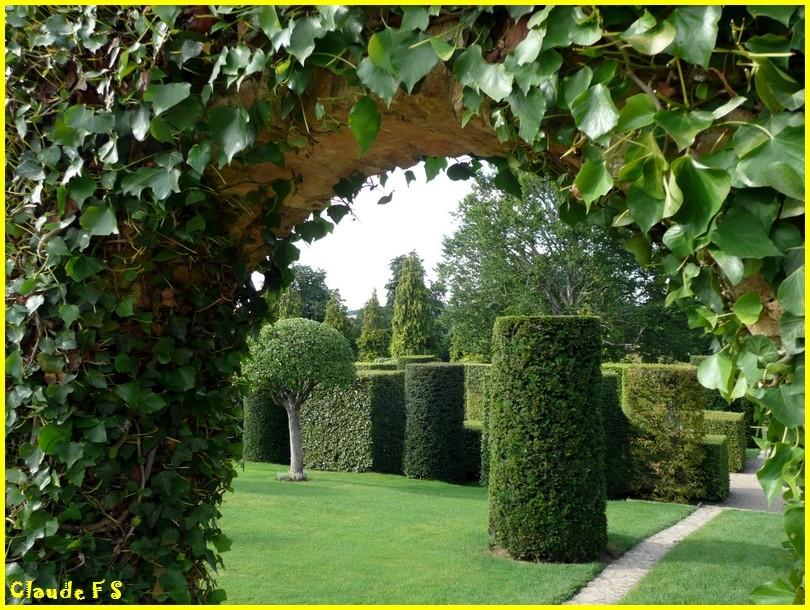 Les Jardins du Manoir d' Eyrignac en Dordogne Jardin31